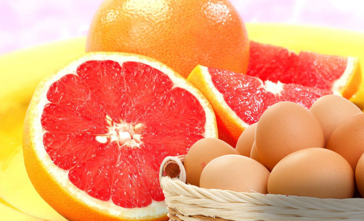 диета яйцо и грейпфрут