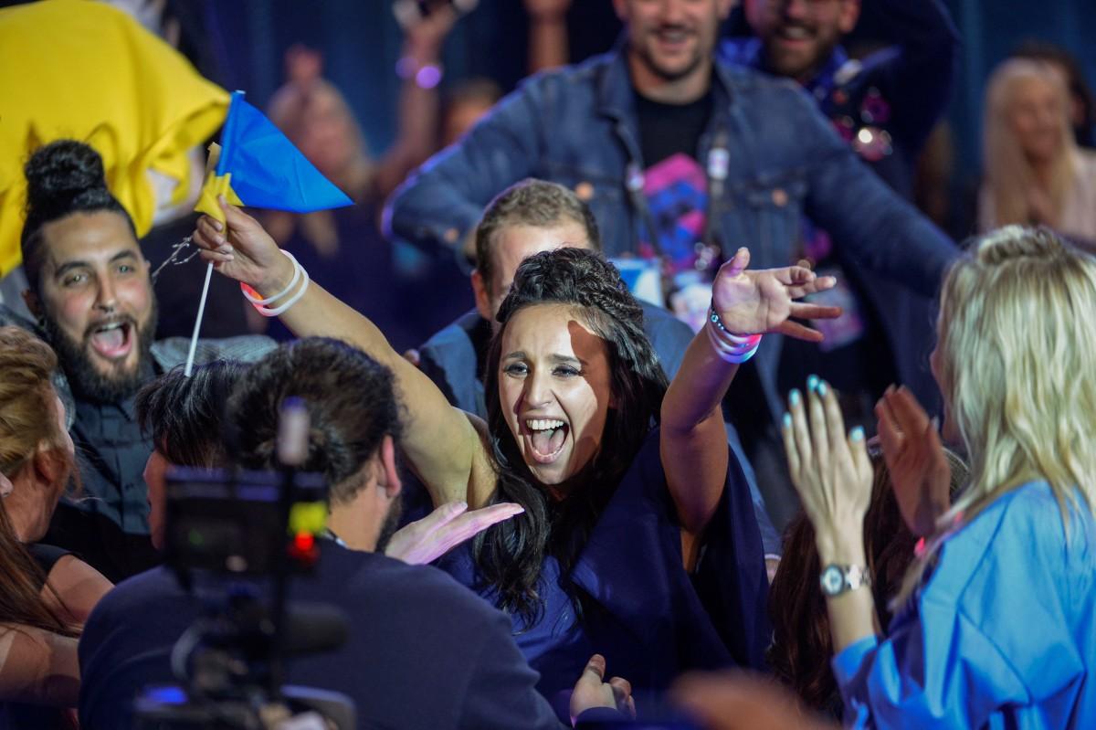 Джамала победила на Евровидении 2016 фото