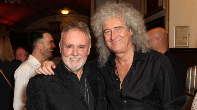 """Участники группы """"Queen"""" Брайан и Роджер"""