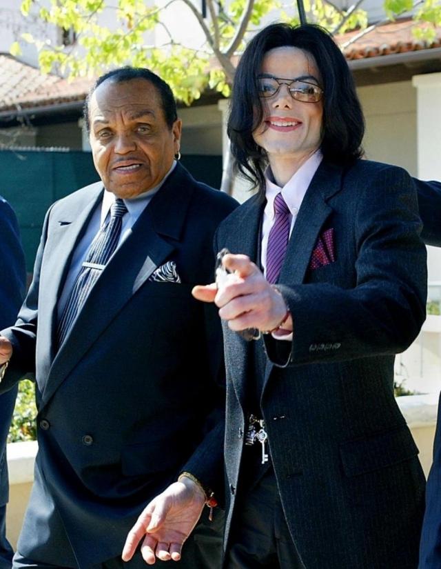 Джо Джексон и Майкл Джексон