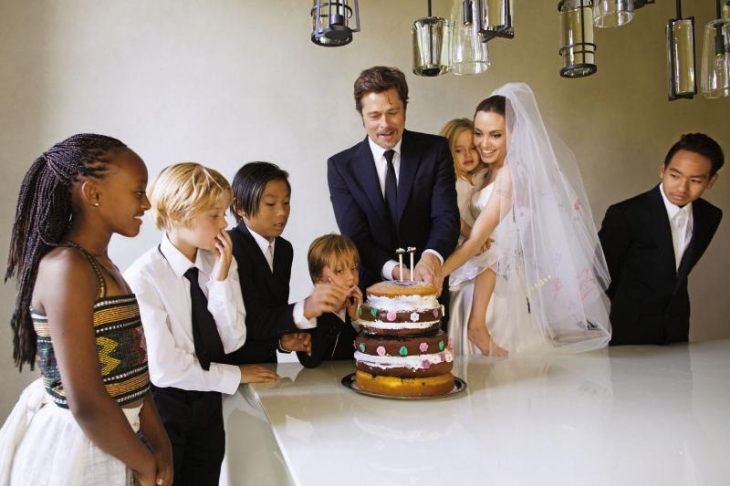 многодетные звездные семьи фото