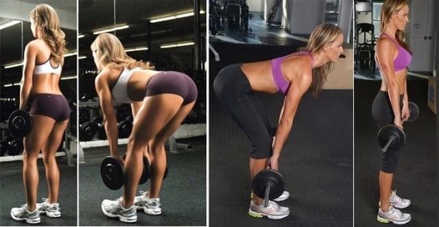 растягивание мышцы жопы видео