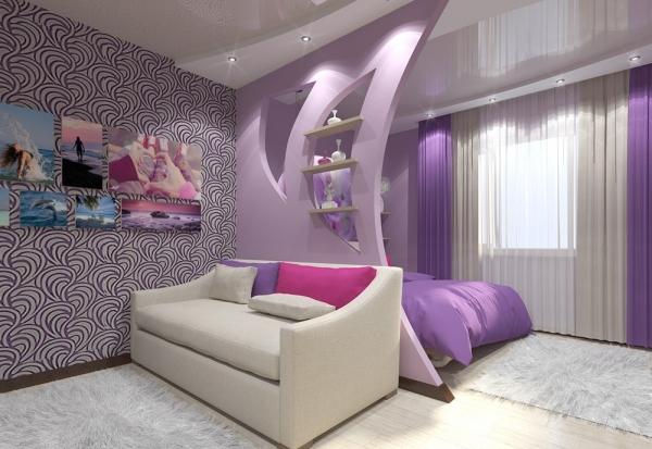 Как сделать перегородку в комнате - изготовление