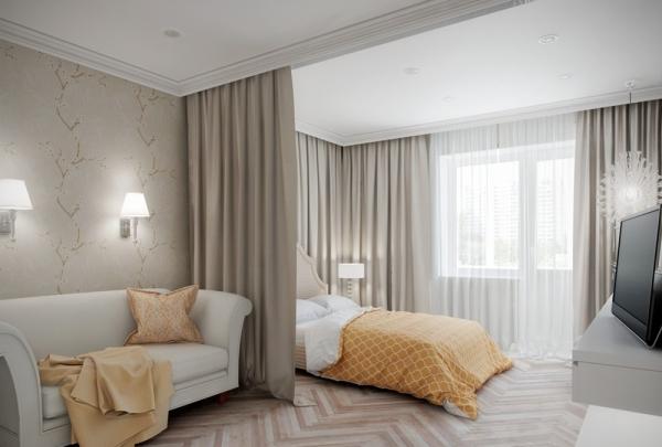 Интерьер спальни для удобного секса