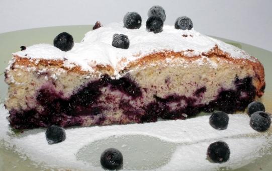 Десерты из черники