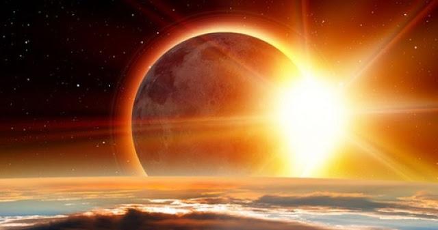 Солнечное затмение можно будет увидеть уже на текущей неделе