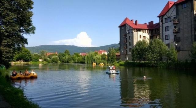 Лечебные курорты Закарпатья: Поляна