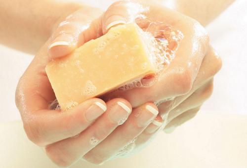 как отмыть мыльницу от мыла тало