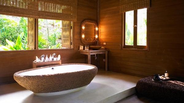 истинное романтическое ванная в стиле спа актуальности цене