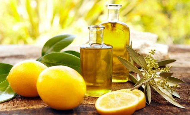 маска из касторового репейного масла и лимона