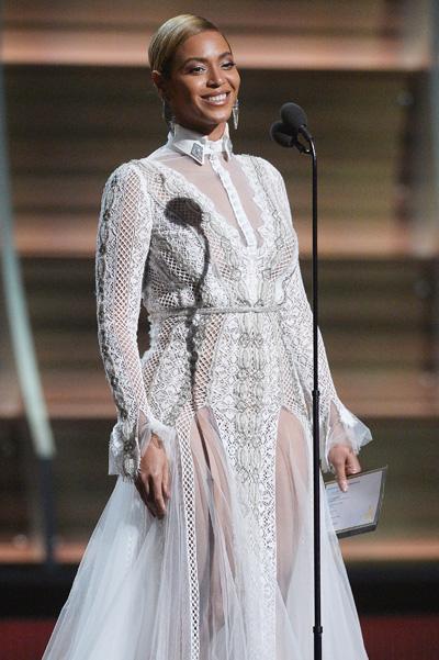 Бейонсе свадебное платье