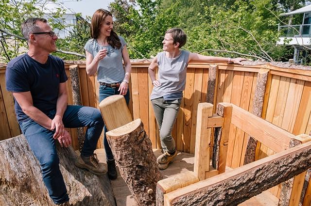 Фотосессия Кейт Миддлтон в Саду дикой природы (ФОТО)