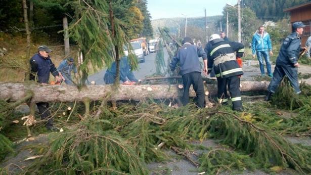 украина ураган октябрь