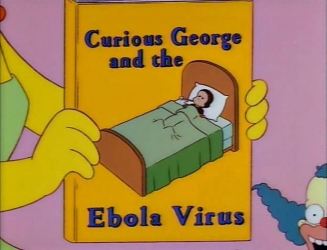 Эпидемия Эболы в симпсонах