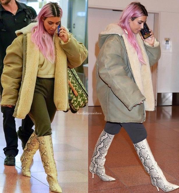 Ким Кардашьян пользуется шампунем для волос за4 доллара