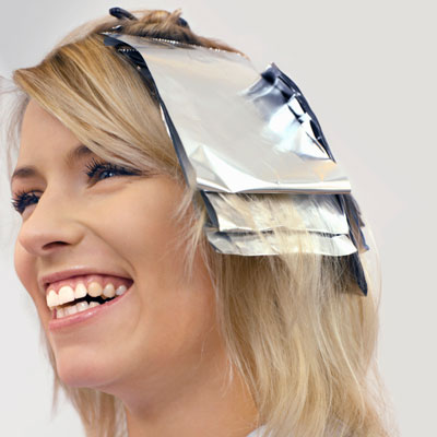 Как правильно сделать полоски на волосах 108