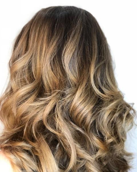 покраска волос, модный цвет волос, модные оттенки волос
