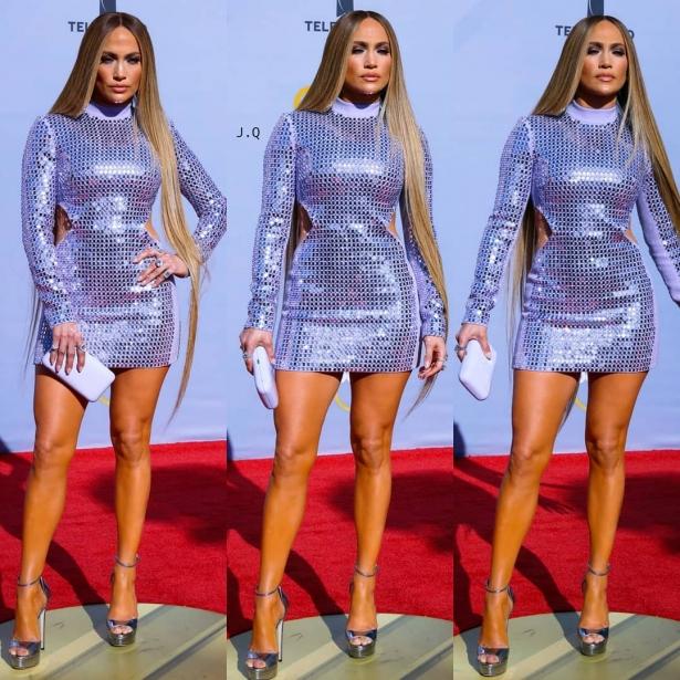 дженнифер лопес на Billboard Latin Music Awards 2018