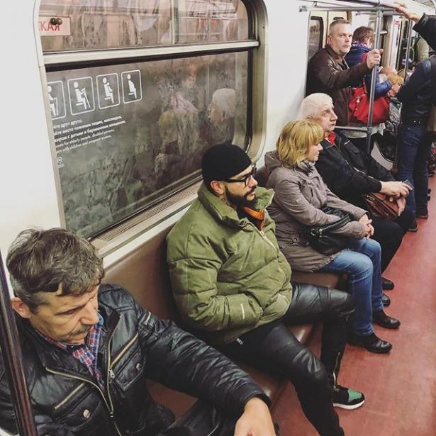 Тимати в метро