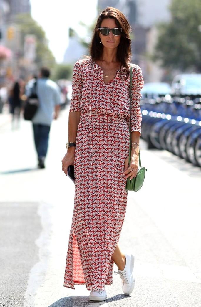 Платье летнее с принтом 12