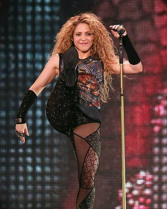 Шакира в Лондоне