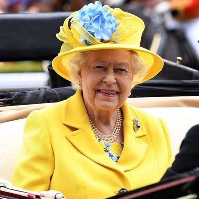 королева елизавета Royal Ascot 2018
