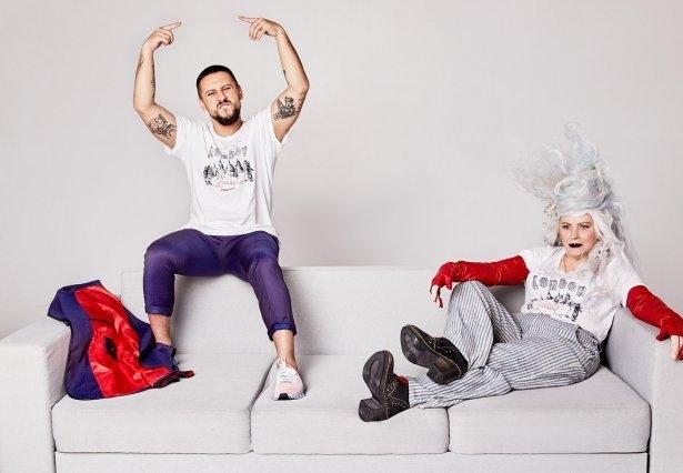 Нина Матвиенко и Монатик