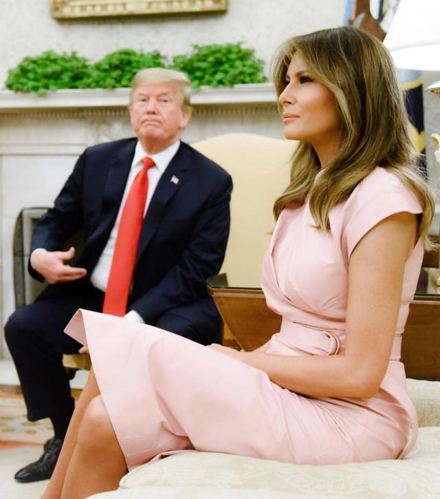 мелания трамп фото