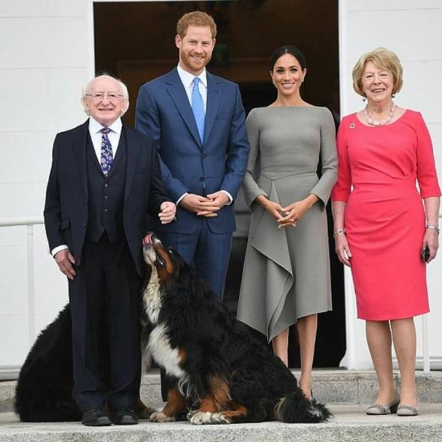 визит меган маркл и принца гарри в ирландию