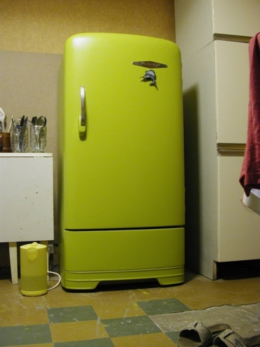 Как отреставрировать старый холодильник фото