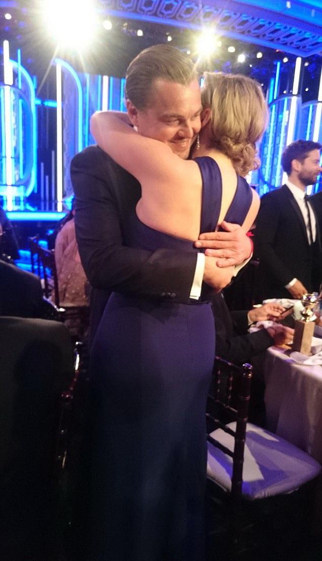 Лео и Кейт Золотой глобус