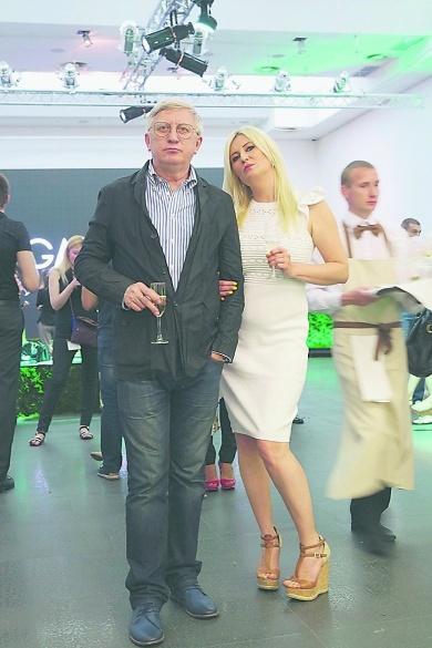 Горянский с женой