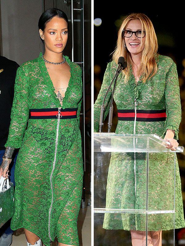 Голосуем! Hot or Not: Рианна в прозрачном платье Gucci