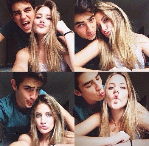 фото с девушек с парнем