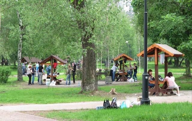 места для пикника под киевом