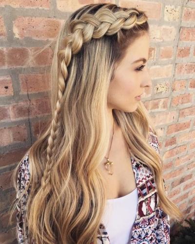 модные косы и плетения