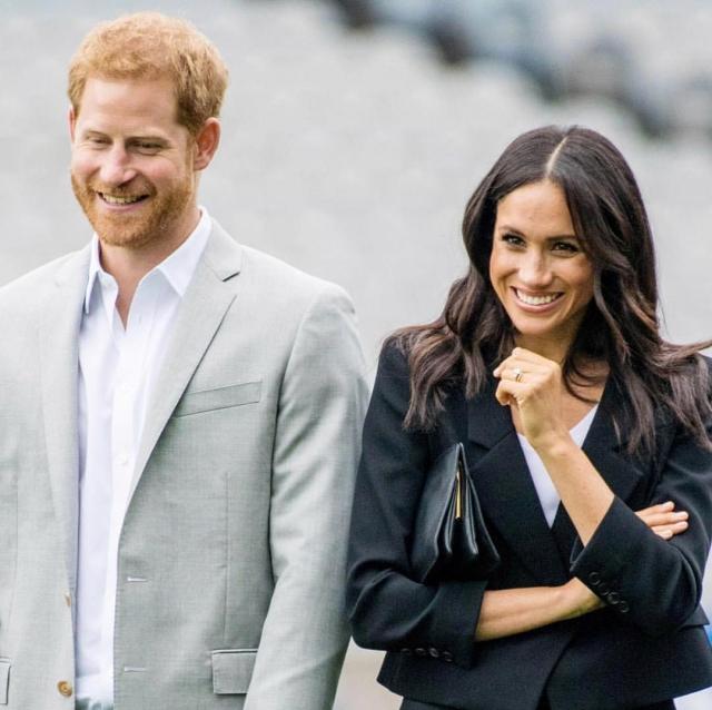 меган и принца гарри готовятся стать родителями