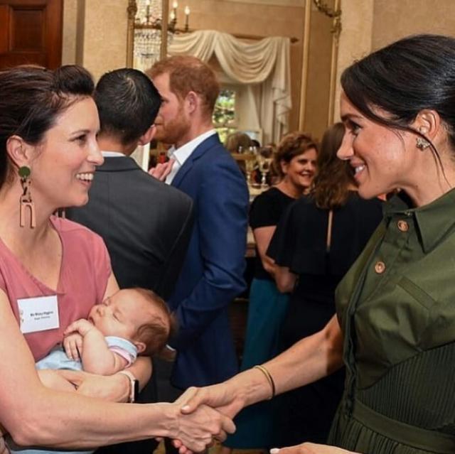 меган маркл и принц гарри в австралии фото