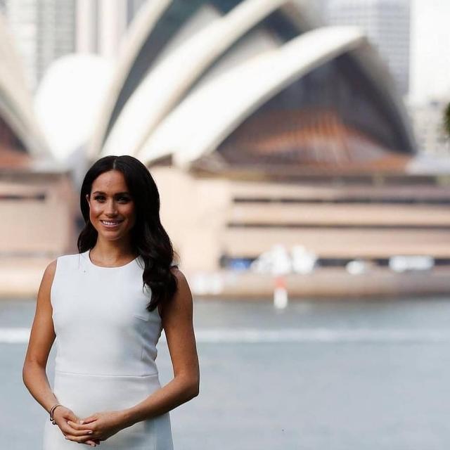 меган и гарри в австралии