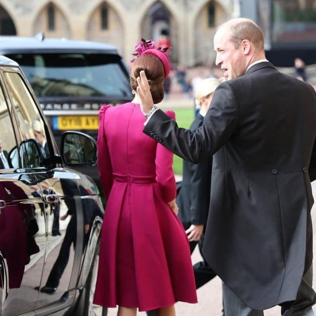 кейт и уильям на свадьбе принцессы евгнии