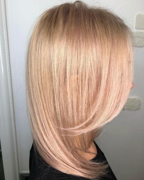 покраска волос, модный цвет волос, модные оттенки волос 2019