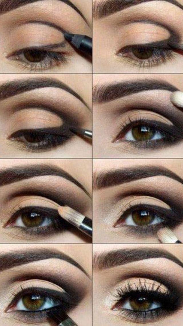 Как сделать миндалевидную форму глаз 678