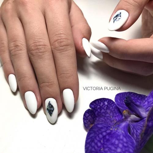 маникюр, дизайн ногтей, маникюр 2019, маникюр на День святого Валентина
