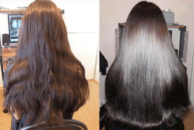 Видео экранирование волос