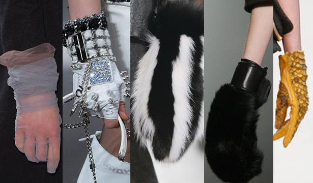 Модные перчатки сезона осень-зима 2013-2014