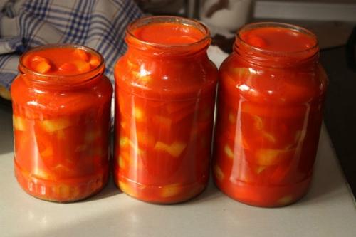 рецепт консервации салата лечо