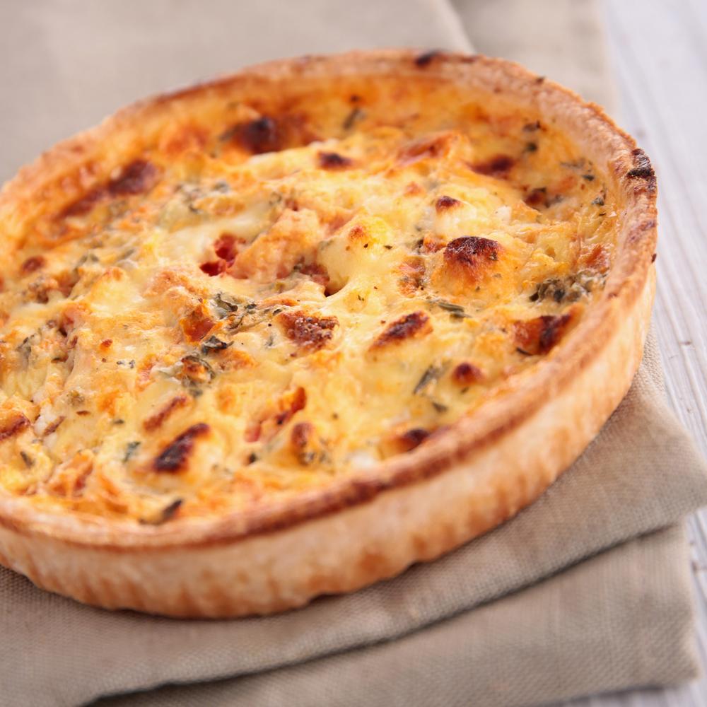 Киш: рецепт открытого пирога по-французски