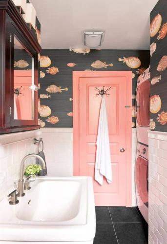 ванная комната обои