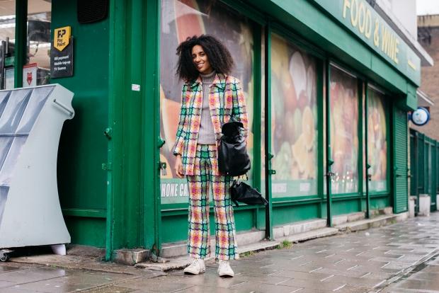 Street style: гости Недели моды в Лондоне