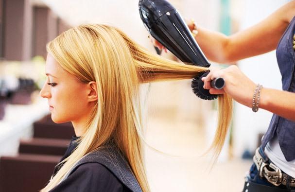 Как уложить волосы как в салоне